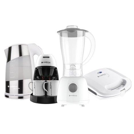 Kit Cozinha Branca Pratic Cadence - 110V