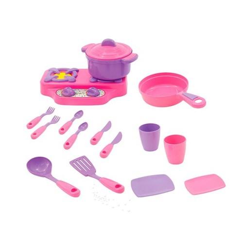 Tudo sobre 'Kit Cozinha Infantil Rosa Maral'