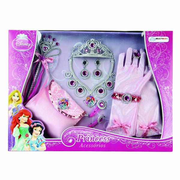 Kit de Acessórios Princesas - 12 Peças - Multikids