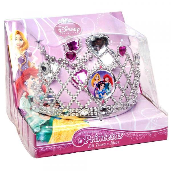 Kit de Acessórios Princesas 3 Peças Br628 Multikids