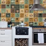 Kit de Azulejos para Cozinha - Azulejos Café