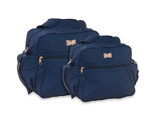 Kit de Bolsas Maternidade 1031 Azul Marinho (Marinho)