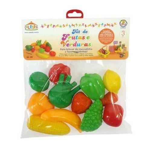 Tudo sobre 'Kit de Frutas e Verduras - Calesita'