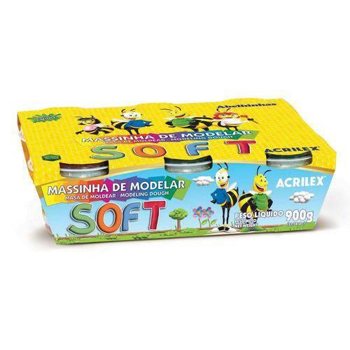 Tudo sobre 'Massinha Soft 15 Cores'