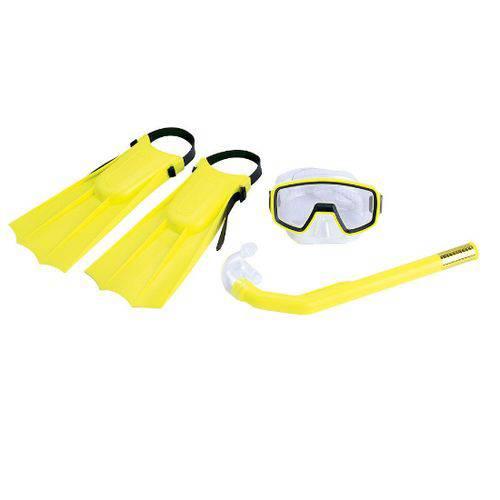 Tudo sobre 'Kit de Mergulho Pacific Amarelo - Nautika'