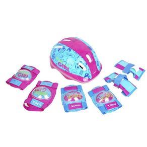 Kit de Proteção Infantil Feminino Atrio - ES105 - Rosa