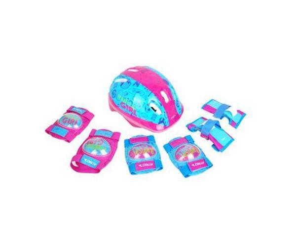 Kit de Proteção Infantil Feminino - Multilaser