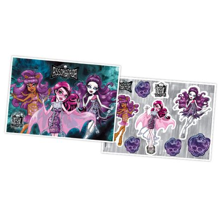 Tudo sobre 'Kit Decorativo Monster High Assombrada'