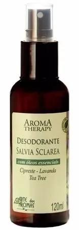 Desodorante Natural Sálvia - Arte dos Aromas
