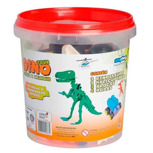 Tudo sobre 'Kit Dino Tour Monte e Brinque'