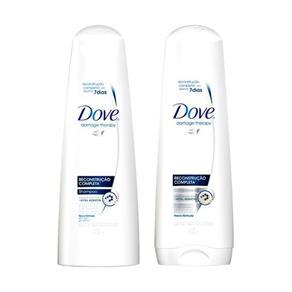 Kit Dove Reconstrução Completa - Shampoo + Condicionador - 400ml + 400ml