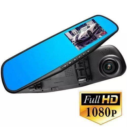 Tudo sobre 'Kit Espelho Retrovisor Lcd com Camera Frontal Filmadora Hd'