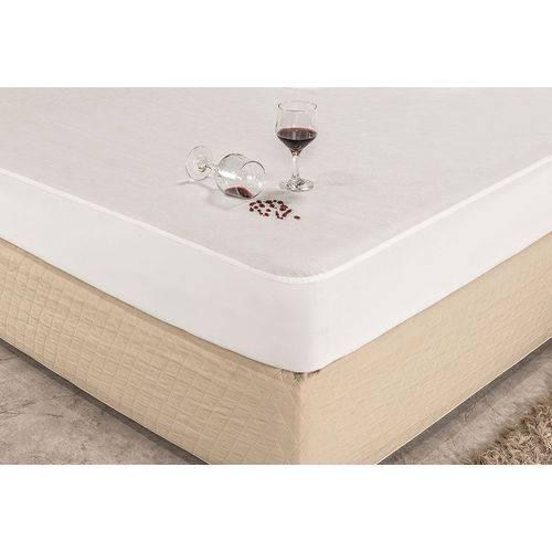 Protetor Impermeável para Colchão de Berço C/ Elástico em Toda Volta - Branco