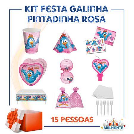 Tudo sobre 'Kit Festa Galinha Pintadinha Rosa'