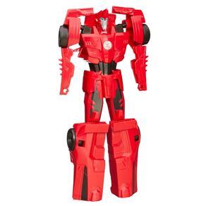 Boneco Transformers Titan Changers Robots In Disguise Sideswipe Hasbro