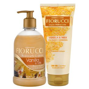 Kit Fiorucci Vanilla & Milk (2 Produtos) Conjunto