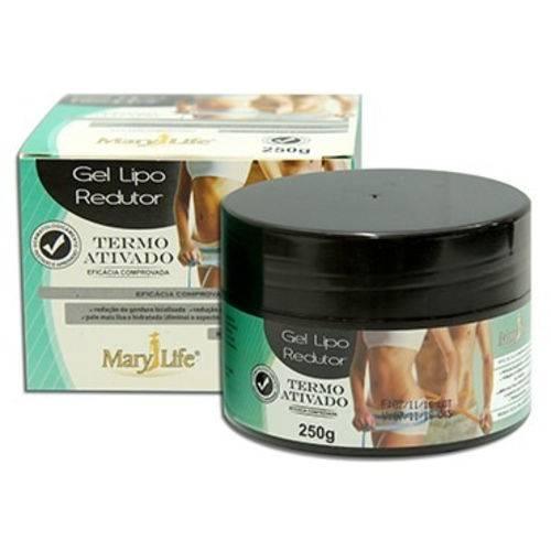 Tudo sobre 'Kit 3 Gel Lipo Redutor 250g - Mary Life'