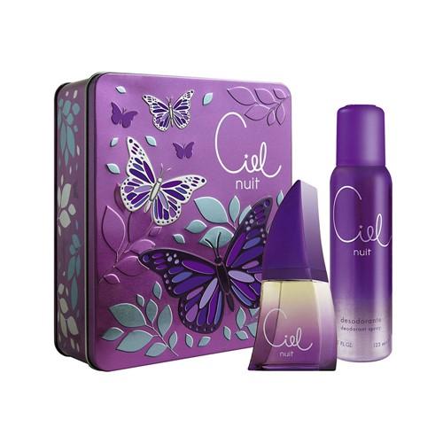 Tudo sobre 'Kit Golden Dreams Perfume Deo Colônia Ciel Nuit 50ml + Desodorante 250ml + Estojo - Femme'