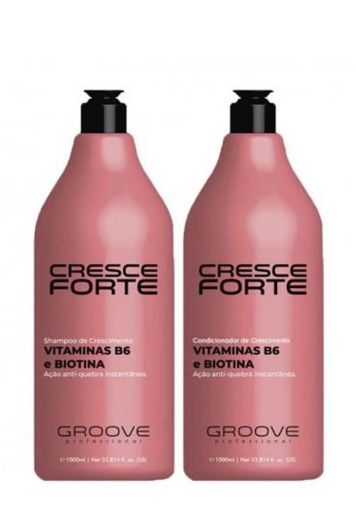 Kit Groove Professional Cresce Forte Shampoo Condicionador (2x1L)