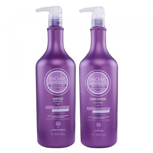 Kit Inoar Absolut Speed Blond - Shampoo + Condicionador