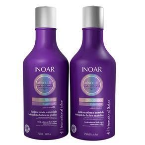 Kit Inoar Absolut Speed Blond (Shampoo e Condicionador) Conjunto