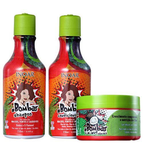 Kit Inoar #bombar Coconut Tratamento (3 Produtos)