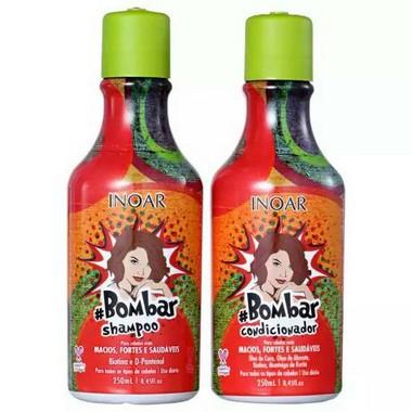 Kit Inoar Bombar - Shampoo e Condicionador 250ml
