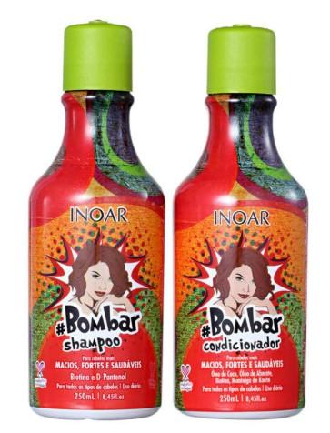 Kit Inoar Duo Bombar Shampoo + Condicionador 250ml