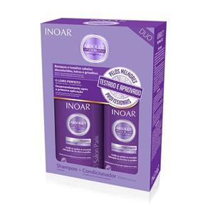 Kit Inoar Speed Blond Shampoo + Condicionador - 250ml + 250ml