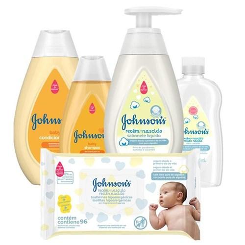 Kit Johnsons Baby Básico Recém-Nascido