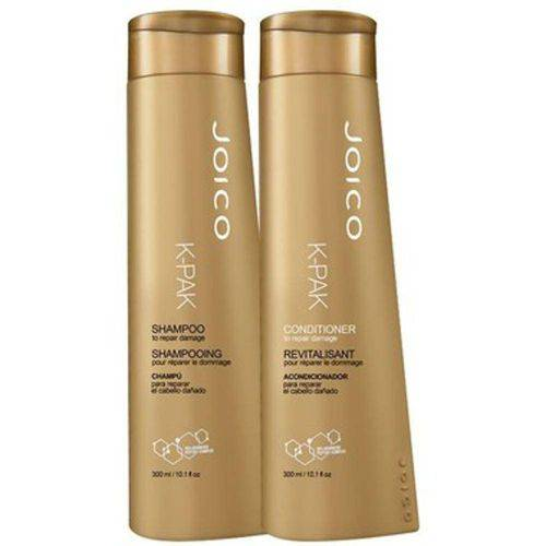 Tudo sobre 'Kit Joico K-pak Damage Shampoo 300ml + Condicionador 300ml'