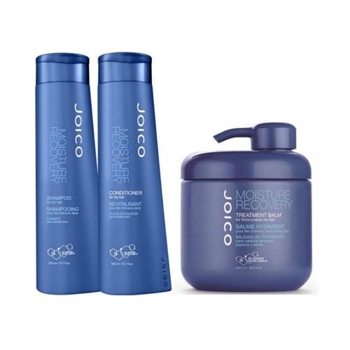 Kit Joico Moisture Recovery Shampoo 300ml + Condicionador 300ml + Máscara 500ml