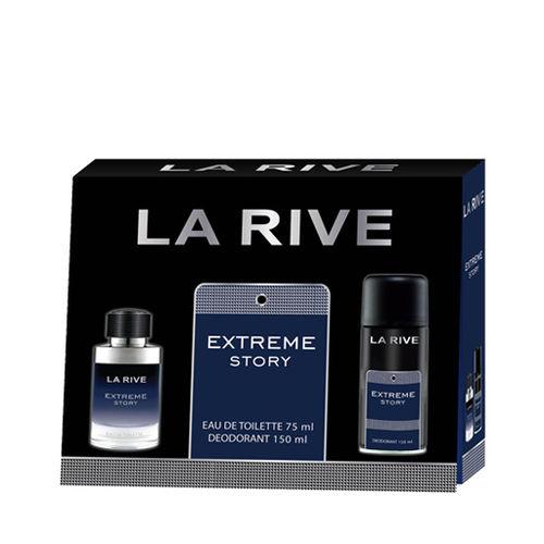 Kit La Rive Extreme Story M 75ml + Desodorante 150ml