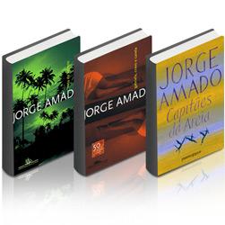Kit Livro - Capitães da Areia - Edição de Bolso + Livro - Gabriela Cravo e Canela + Livro - Tieta do Agreste
