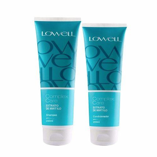 Kit Lowell Extrato de Mirtilo Shampoo 240ml + Condicionador 200ml
