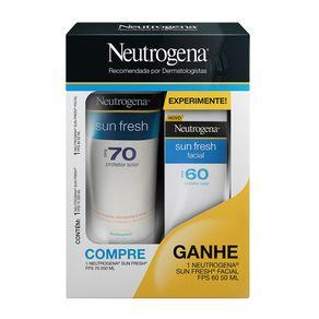 Kit Neutrogena Sun Fresh (2 Produtos) Conjunto