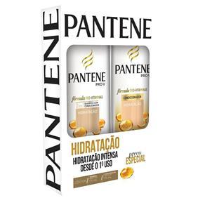 Kit Pantene Shampoo + Condicionador 175ml Hidratação