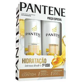 Kit Pantene Shampoo + Condicionador Hidratação - 200ml