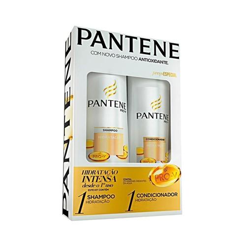 Kit Pantene Shampoo + Condicionador Hidratação - 175ml