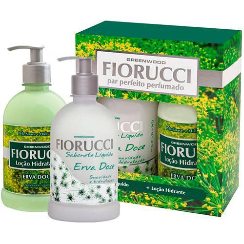 Tudo sobre 'Kit Fiorucci Par Perfeito Sabonete Líquido 500ml + Loção 200ml'