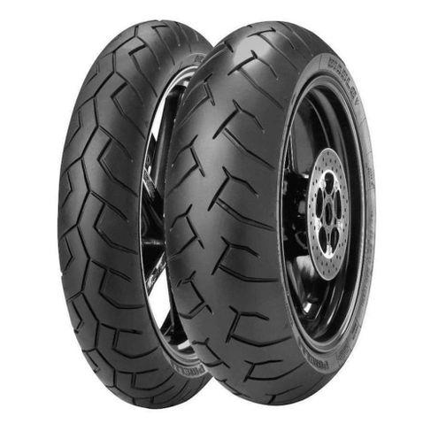 Tudo sobre 'Kit PAR Pneu Pirelli Diablo CB 500 / XJ6'