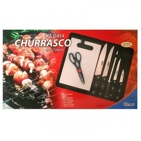 Kit para Churrasco - 7 PEÇAS -WESTERN
