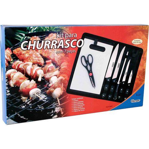 Kit para Churrasco 7 Peças - Western