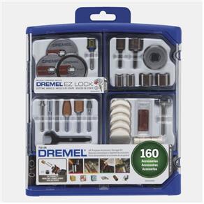Kit para Mini Retifica 710 160 Peças Dremel