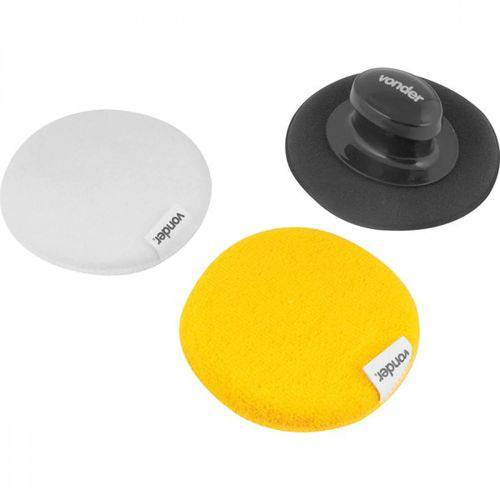Kit para Polimento com Suporte para Limpeza Vonder