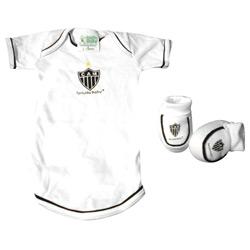Kit 2pçs Body Curto Atlético Mineiro - Torcida Baby