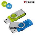 Kit 2 Pen Drive Kingston 2gb e 4gb Usb 2.0 - Datatraveler 101 G2