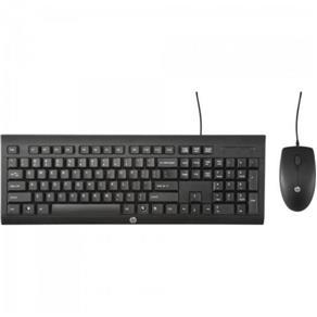 Kit Perifericos Teclado+mouse USB C2500 Preto HP