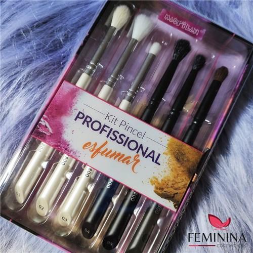 Kit Pincel Profissional para Esfumar – Macrilan