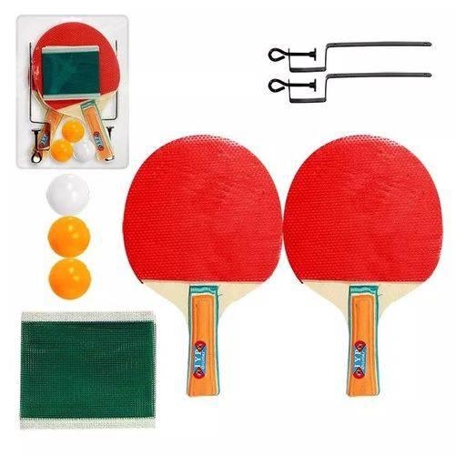 Tudo sobre 'Kit Ping Pong Tênis de Mesa Raquetes Rede Bolinhas Completo'